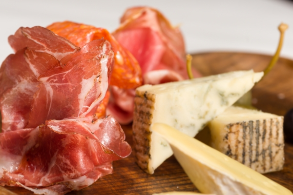 Closeup of Salumi Platter