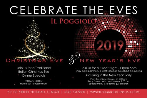 Christmas New Years Eve Hinsdalean Il Poggiolo
