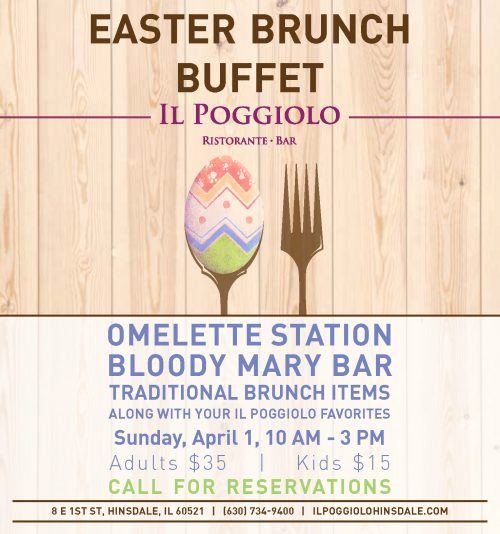Easter Brunch Buffet 2018
